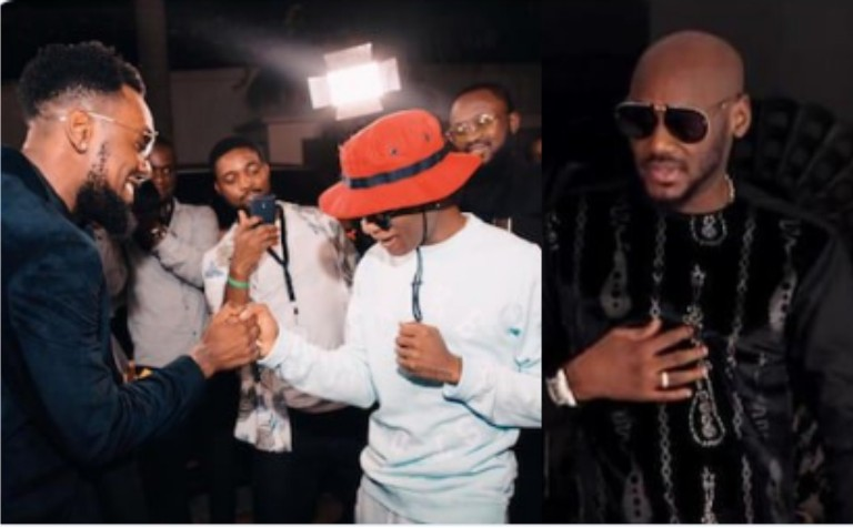 Watch video, see why Nigerians are saying Wizkid disrespected 2face