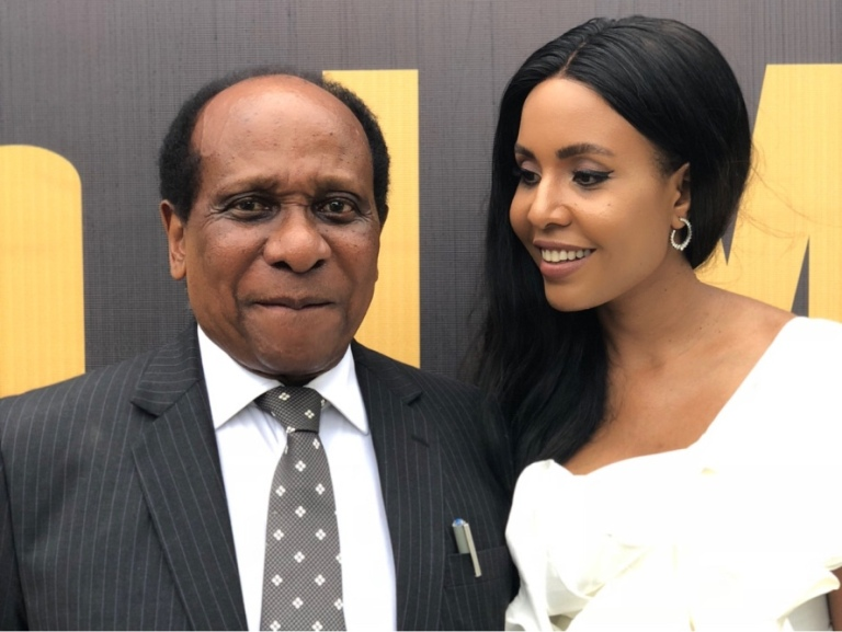 Image result for reginald mengi and wife