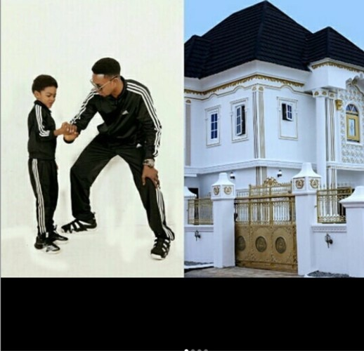 Photos: Comedian I Go Dye gifts his son a mansion for his