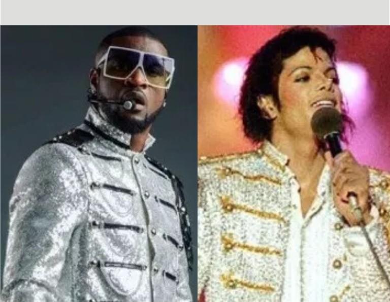 See the Beautiful Tribute Peter Okoye gave Michael Jackson