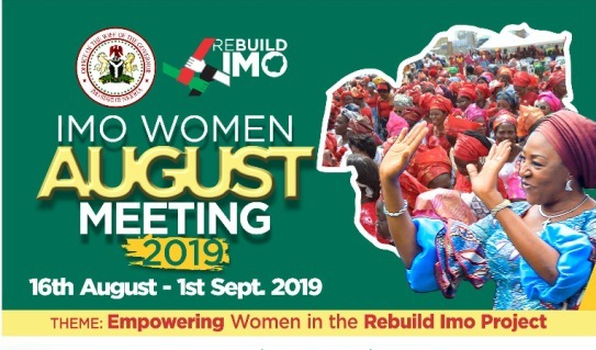 Good news! Mrs Ihedioha to continue Annual Imo Women August