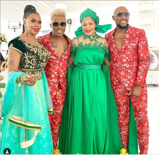 Photos Of Somizi And His Gay Partner, Mohale's Traditional