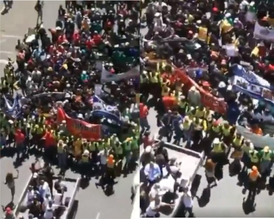 Just in! Thousands of South Africans march for Peace, beg ...March For Peace 2019