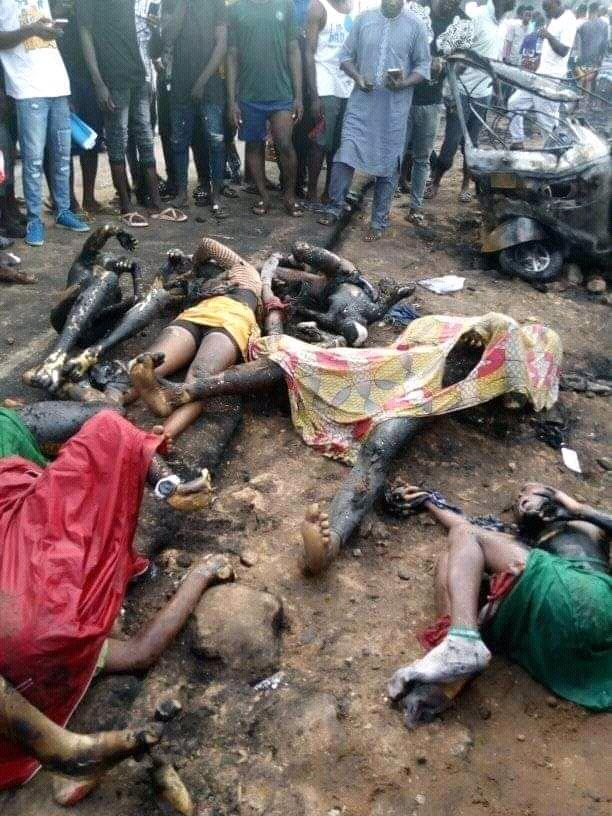 many killed in tanker fire explosion in Kogi