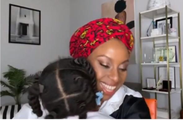 Chimamanda Adichie hails her daughter