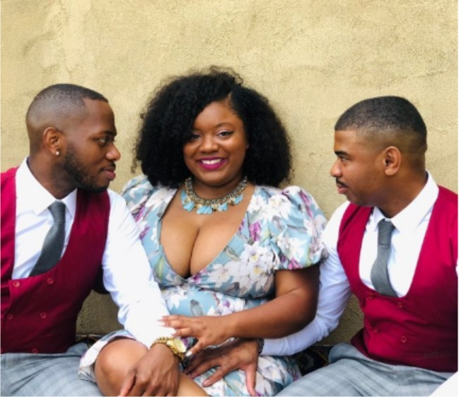 woman marries two husbands