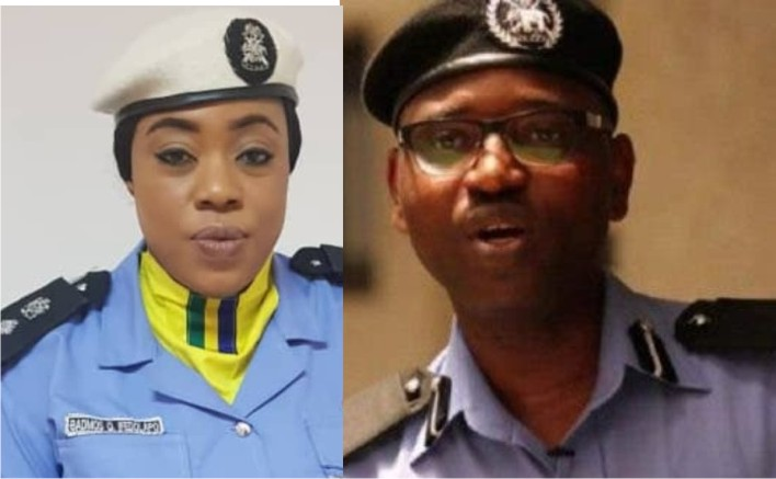 Abayomi Shogunle and Dolapo Badmus dismissed from Police