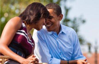 Barack and Michelle Obama mark wedding anniversary