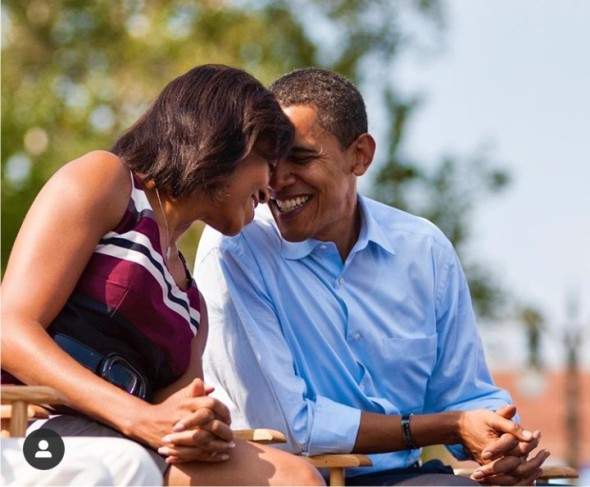 Barack and Michelle Obama mark wedding anniversary