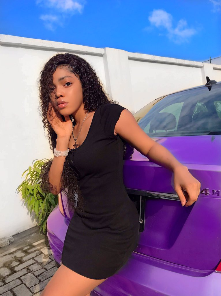 Gift Camille reveals why Lil Frosh beat her up