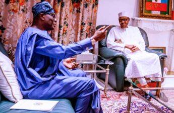 Sanwo Olu meets Buhari over Endsars