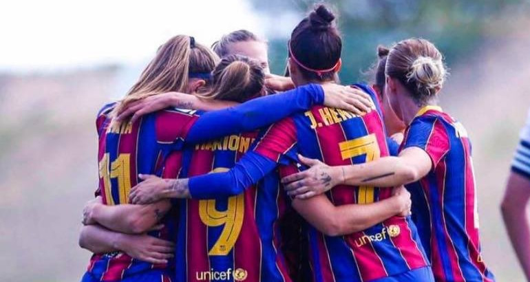 Barcelona women trach Real Madrid