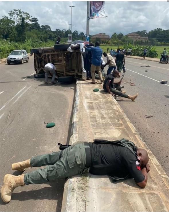 policemen killed in road accident in Ondo