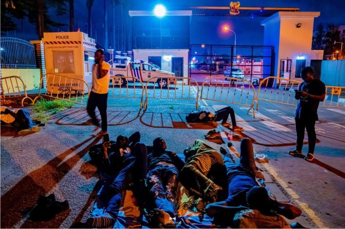 EndSARS protesters keep vigil