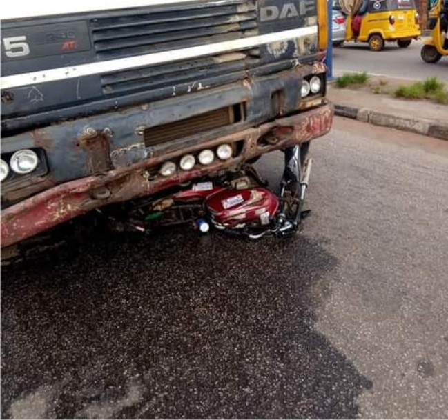 Truck accident in Kwara