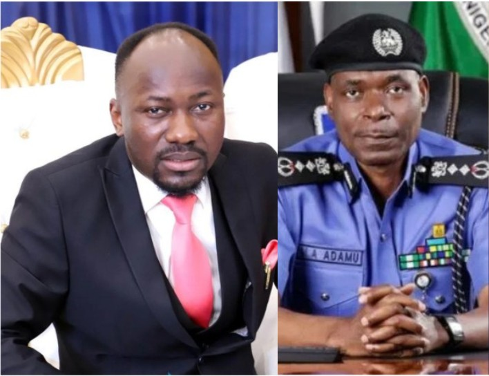 Apostle Johnson Suleman reacts to report that IGP ordered his probe for allegedly sleeping with a former Pastor's wife - Expressive Info