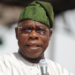 Just In! Obasanjo writes a new open letter to President Buhari, read full text